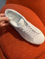 CELINE Plain Leather Sneakers