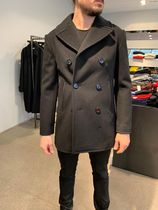 CELINE Cashmere Plain Long Coats