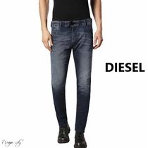 DIESEL Street Style Plain Cotton Joggers Jeans & Denim