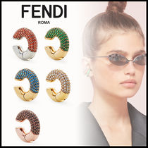 FENDI Elegant Style Earrings