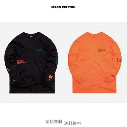 Heron Preston More T-Shirts Camouflage Unisex Street Style Collaboration T-Shirts
