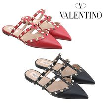 VALENTINO Plain PVC Clothing Sandals