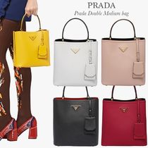 PRADA DOUBLE Shoulder Bags