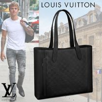 Louis Vuitton A4 Leather Totes