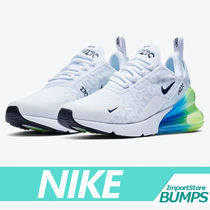 Nike AIR MAX 270 Street Style Collaboration Plain Sneakers