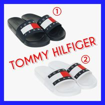 Tommy Hilfiger Plain Shower Shoes Shower Sandals