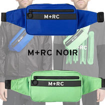 MRC NOIR Unisex Street Style Bi-color Messenger & Shoulder Bags