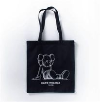 Street Style Collaboration Plain Totes