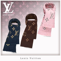 Louis Vuitton Monogram Unisex Wool Heavy Scarves & Shawls
