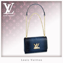 Louis Vuitton TWIST Casual Style 3WAY Chain Other Animal Patterns Shoulder Bags