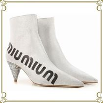 MiuMiu Elegant Style Ankle & Booties Boots