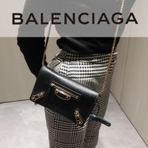 BALENCIAGA CITY Chain Leather Accessories