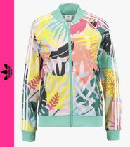 adidas Flower Patterns Casual Style Jackets