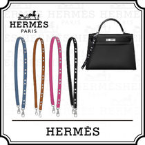 HERMES Casual Style Calfskin Studded Bags