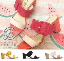 CHINESE LAUNDRY Open Toe Casual Style Street Style Plain Sandals Sandal