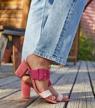 CHINESE LAUNDRY Open Toe Casual Style Street Style Plain Sandals