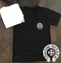 CHROME HEARTS Street Style T-Shirts