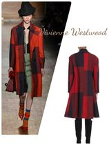Vivienne Westwood Other Check Patterns Casual Style Wool Medium Coats