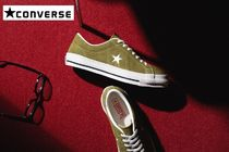 CONVERSE ONE STAR Suede Street Style Sneakers