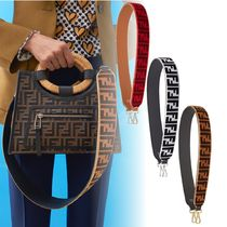 FENDI STRAP YOU Leather Elegant Style Focused Brands Bags
