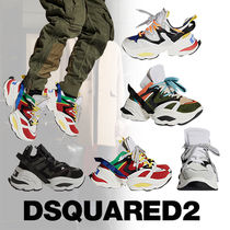 D SQUARED2 Street Style PVC Clothing Sneakers
