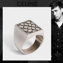 CELINE Other Animal Patterns Silver Rings