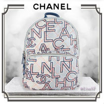 CHANEL Casual Style Calfskin A4 Backpacks