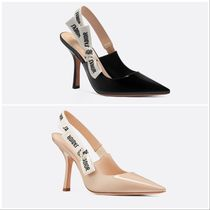 Christian Dior JADIOR ★Dior★J'ADIOR Leather Pumps 10cm