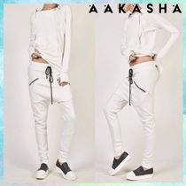 Aakasha Casual Style Plain Cotton Handmade Sarouel Pants