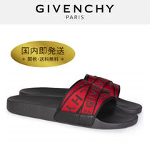 GIVENCHY Unisex Street Style Plain Shower Shoes Shower Sandals