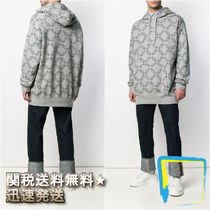 VALENTINO Pullovers Long Sleeves Cotton Hoodies
