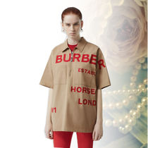 Burberry Short Sleeves Shirts & Blouses