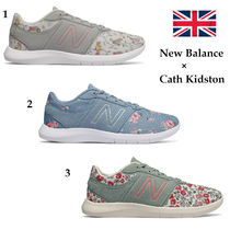 Cath Kidston Flower Patterns Casual Style Collaboration Low-Top Sneakers