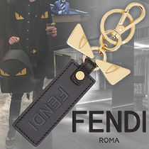 FENDI BAG BUGS Calfskin Keychains & Holders