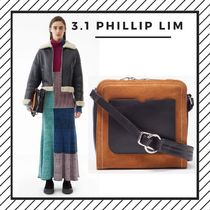 3.1 Phillip Lim Street Style 2WAY Plain Leather Party Style Shoulder Bags