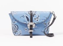 3.1 Phillip Lim Flower Patterns Street Style Leather Party Style Crossbody
