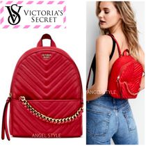 Victoria's secret Chain Plain Elegant Style Bold Backpacks