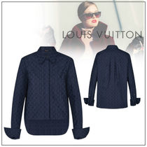 Louis Vuitton Monogram Casual Style Street Style Long Sleeves Cotton