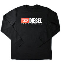 DIESEL Crew Neck Long Sleeves T-Shirts