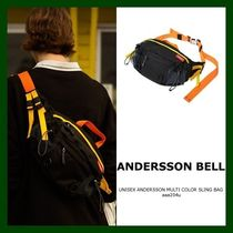 ANDERSSON BELL Casual Style Unisex Nylon Street Style Plain Bags