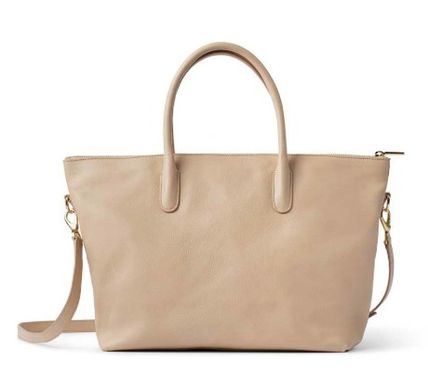 2WAY Plain Leather Bags