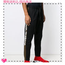 Dolce & Gabbana Tapered Pants Plain Cotton Tapered Pants