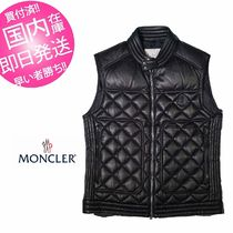 MONCLER Leather Down Jackets