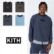 KITH NYC Street Style Long Sleeves Tops