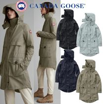 CANADA GOOSE Plain Medium Trench Coats