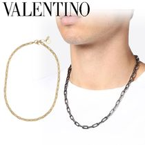 VALENTINO Street Style Chain Metal Necklaces & Chokers