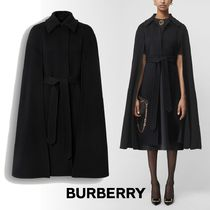 Burberry Cashmere Plain Ponchos & Capes