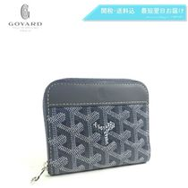 GOYARD Monogram Unisex PVC Clothing Folding Wallets