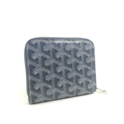 GOYARD Folding Wallets Monogram Unisex PVC Clothing Folding Wallets 2