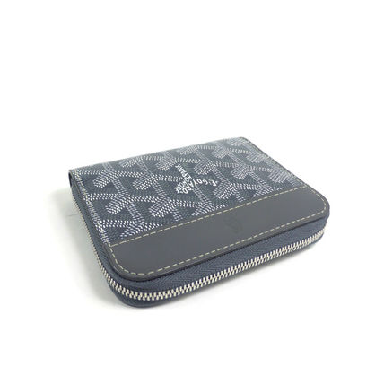 GOYARD Folding Wallets Monogram Unisex PVC Clothing Folding Wallets 3